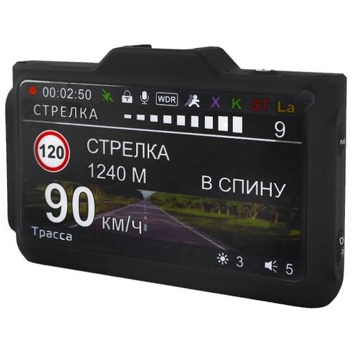 Видеорегистратор с радар-детектором Playme P570, GPS