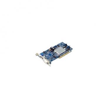 Видеокарта GIGABYTE Radeon 9250 240Mhz AGP 128Mb 400Mhz 128 bit DVI TV