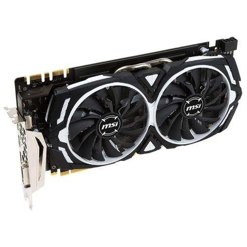Видеокарта MSI GeForce GTX 1070 1556MHz PCI-E 3.0 8192MB 8008MHz 256 bit DVI HDMI HDCP