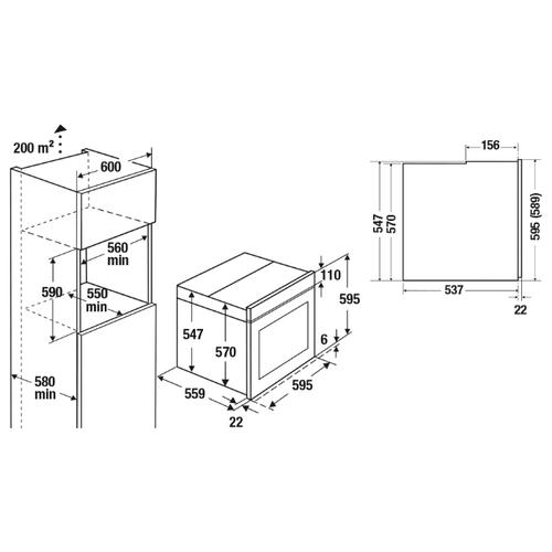Электрический духовой шкаф Kuppersbusch B 6350.0 S7