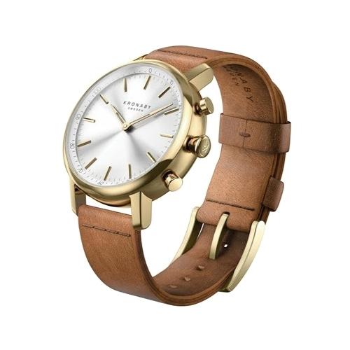 Часы Kronaby Carat (leather strap) 38mm