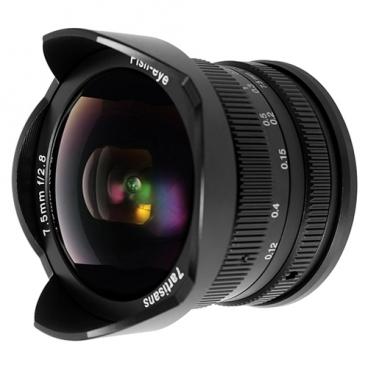 """Объектив 7artisans 7.5mm f/2.8 Fuji X"""""""