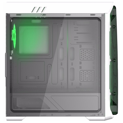 Компьютерный корпус GameMax StarLight White/green