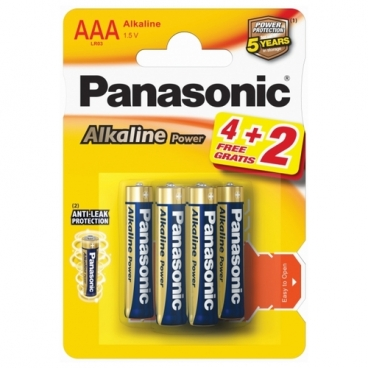 Батарейка Panasonic Alkaline Power AAA/LR03
