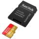 Карта памяти SanDisk Extreme microSDXC Class 10 UHS Class 3 V30 A2 160MB/s 128GB + SD adapter