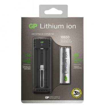 Аккумулятор Li-Ion 2600 мА·ч GP L1111865026FPE-2CRFB1