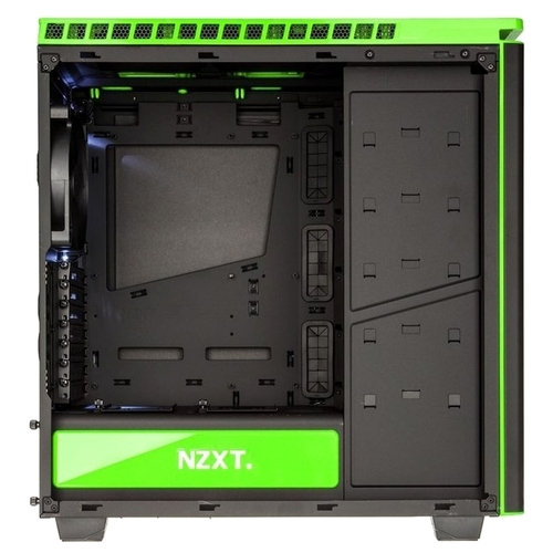 Компьютерный корпус NZXT H440 Black/green