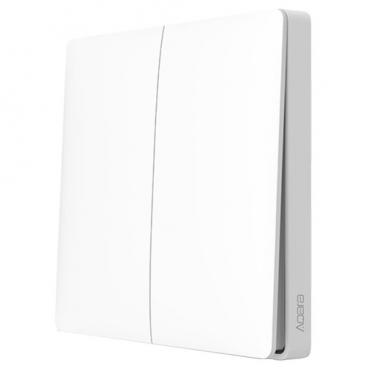 Выключатель с электронной коммутацией Aqara WXKG02LM, белый