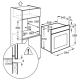 Электрический духовой шкаф Electrolux OEF5E50X