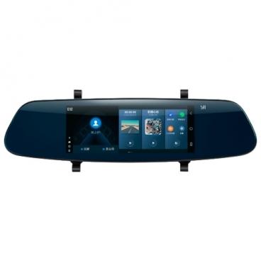 Видеорегистратор YI Smart Mirror Rearview, GPS, ГЛОНАСС