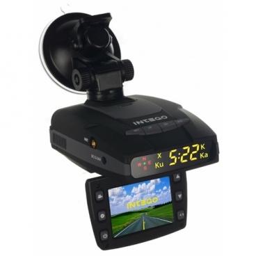 Видеорегистратор с радар-детектором Intego VX-460R, GPS