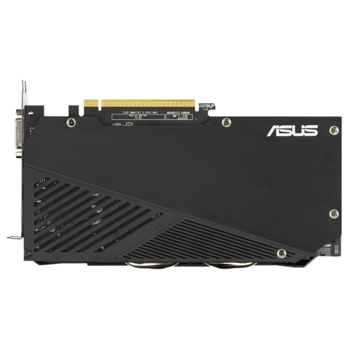 Видеокарта ASUS Dual GeForce GTX 1660 SUPER 1530MHz PCI-E 3.0 6144MB 14002MHz 192 bit DVI HDMI DisplayPort HDCP EVO Advanced