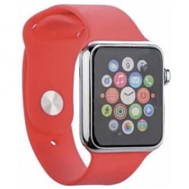 Karmaso Ремешок для Apple Watch 42 мм спортивный красный