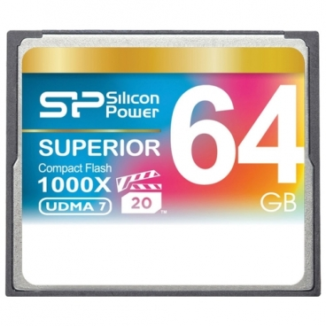 Карта памяти Silicon Power Superior CF 1000X 64GB