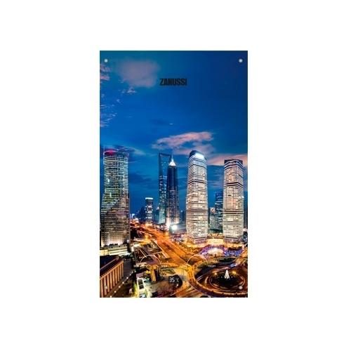 Проточный газовый водонагреватель Zanussi GWH 10 Fonte Glass Metropoli