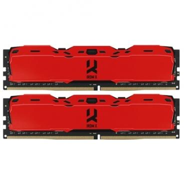 Оперативная память 8 ГБ 2 шт. GoodRAM IR-XR3000D464L16S/16GDC