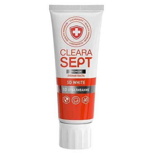 Зубная паста ClearaSept 3D White 3D Отбеливание
