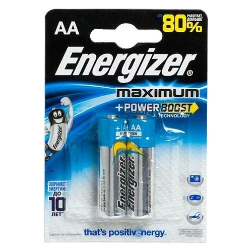 Батарейка Energizer Maximum+Power Boost AA/LR6
