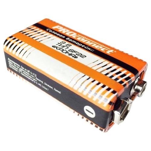 Батарейка PROconnect Крона 9V 6F22