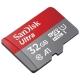 Карта памяти SanDisk Ultra microSDHC Class 10 UHS Class 1 A1 98MB/s 32GB + SD adapter