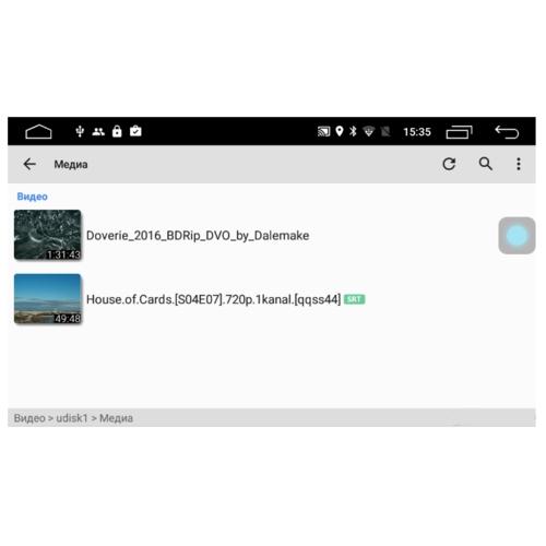 Автомагнитола Parafar IPS Toyota Hilux 2018+ Android 6.0 (PF063Lite)