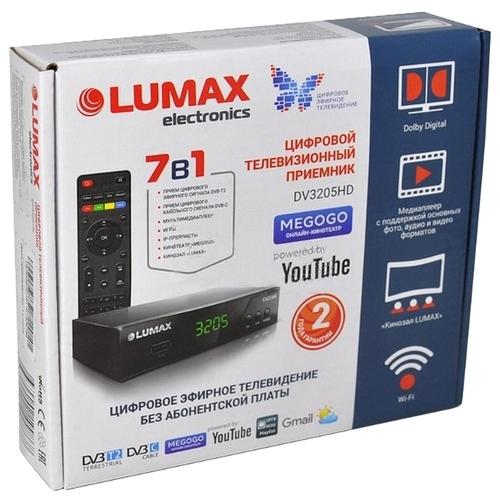 TV-тюнер LUMAX DV-3205HD