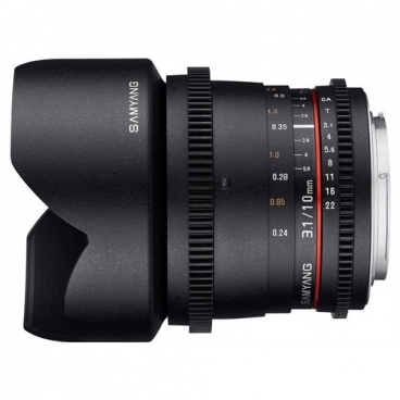 Объектив Samyang 10mm T3.1 ED AS NCS CS VDSLR II Canon EF
