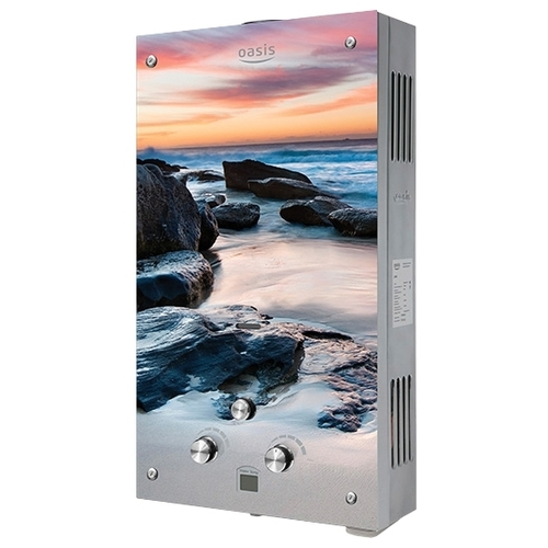 Проточный газовый водонагреватель Oasis Glass 20МG