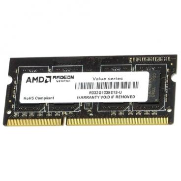 Оперативная память 2 ГБ 1 шт. AMD R332G1339S1S-U