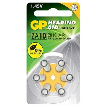 Батарейка GP Hearing Aid ZA10