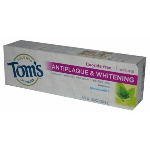 Зубная паста Tom's of Maine Antiplaque & Whitening Курчавая мята