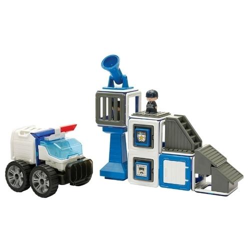 Магнитный конструктор Magformers Amazing 717002 Police Set
