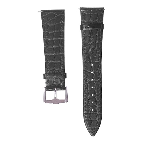 GSMIN Кожаный ремешок Crocodile Leather для Ticwatch Pro