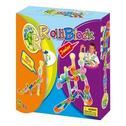 Динамический конструктор Toto Toys Rolliblock 981 23 детали