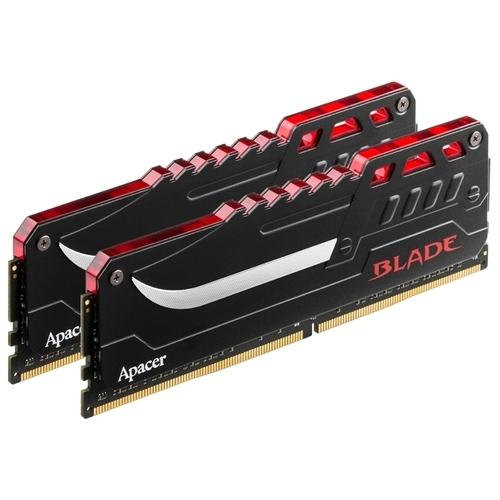 Оперативная память 8 ГБ 2 шт. Apacer BLADE FIRE DDR4 2800 DIMM 16Gb Kit (8GBx2)