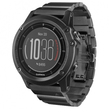Часы Garmin Fenix 3 Sapphire HR with Metal Band