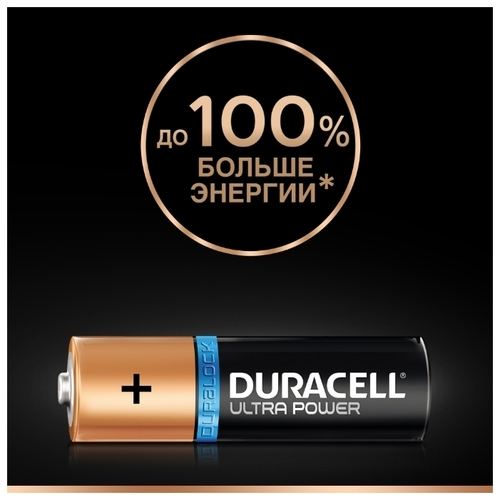 Батарейка Duracell Ultra Power AAA/LR03