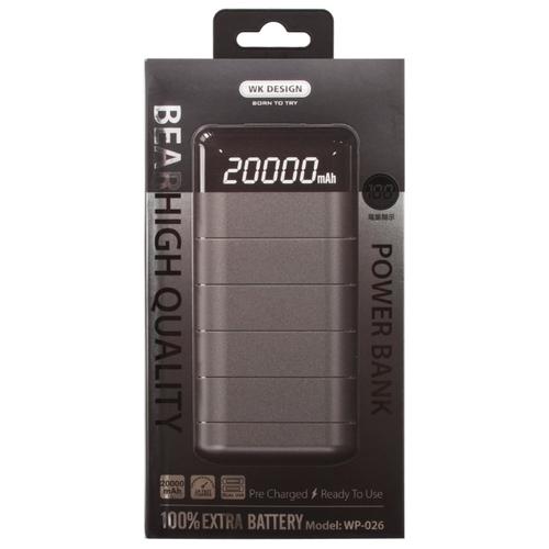 Аккумулятор WK WP-026 Bear 20000 mAh