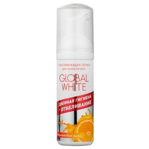 Пенка для зубов Global White Отбеливающая Апельсиновый фрэш
