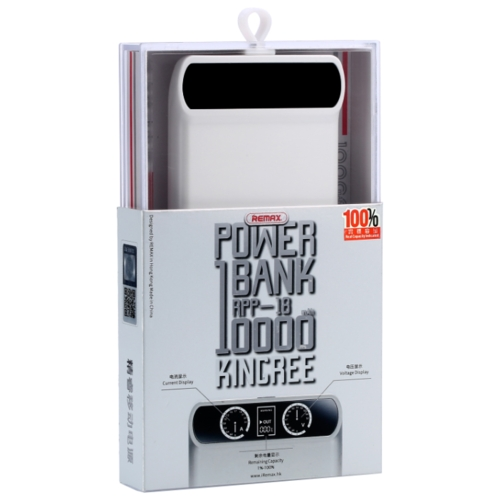 Аккумулятор Remax Kingree 10000 mAh RPP-18