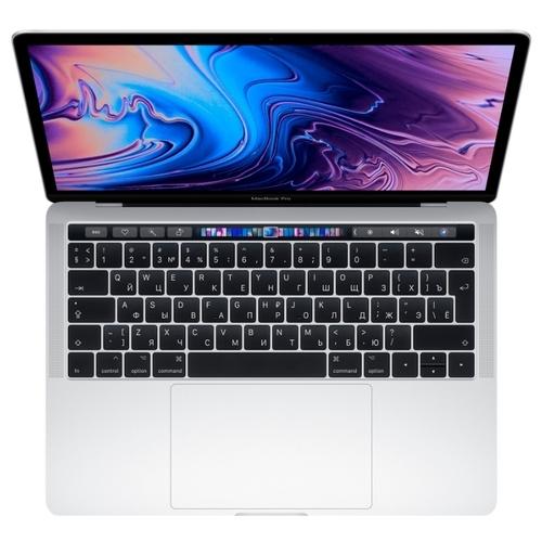 "Ноутбук Apple MacBook Pro 13 with Retina display and Touch Bar Mid 2019 (Intel Core i5 1400 MHz/13.3""/2560x1600/8GB/128GB SSD/DVD нет/Intel Iris Plus Graphics 645/Wi-Fi/Bluetooth/macOS)"