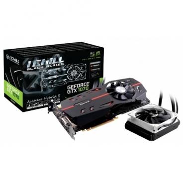 Видеокарта INNO3D GeForce GTX 1070 1620Mhz PCI-E 3.0 8192Mb 8200Mhz 256 bit DVI HDMI HDCP Black