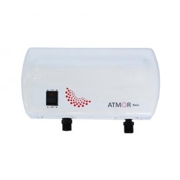 Проточный электрический водонагреватель Atmor Basic 5 душ кран