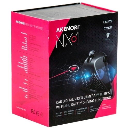 Видеорегистратор Akenori NX01, GPS