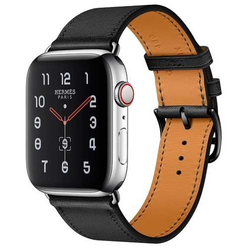 Часы Apple Watch Hermès Series 5 GPS + Cellular 44mm Stainless Steel Case with Single Tour