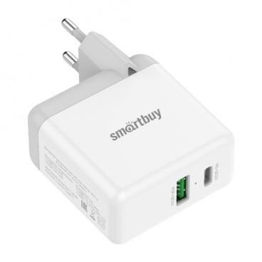 Сетевая зарядка SmartBuy Flash SBP-2024C