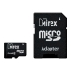 Карта памяти Mirex microSD Class 4 2GB + SD adapter