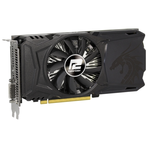 Видеокарта PowerColor Radeon RX 560 1176MHz PCI-E 3.0 4096MB 7000MHz 128 bit DVI HDMI HDCP Red Dragon
