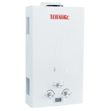 Проточный газовый водонагреватель Teplox ГПВ-10-А