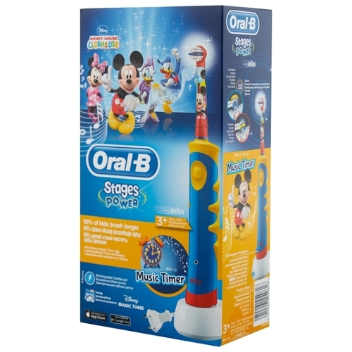 Электрическая зубная щетка Oral-B Kids Mickey Mouse